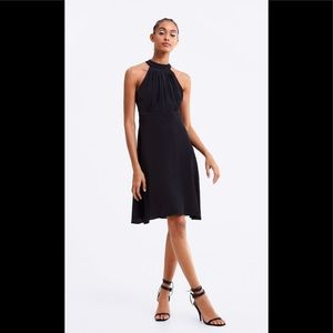 Zara Black Halter Dress